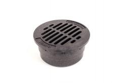 "G3RFB - Black 3"" Round Flat Grate"