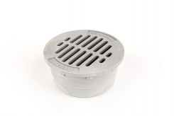 "G3RFC - Grey 3"" Round Flat Grate"