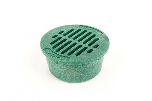 """G3RFG - Green 3"""" Round Flat Grate"""