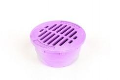 "G3RFP - Purple 3"" Round Flat Grate"