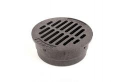 "G4RFB - Black 4"" Round Flat Grate"