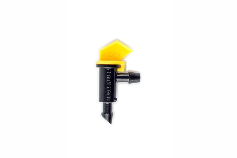 ETA40Y - 4.0 gph Yellow Take Apart Flag Emitter
